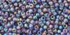 Toho Seed Bead 11/0 Round #125 Transparent Rainbow Sugar Plum 20g