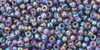 Toho Seed Bead 11/0 Round #125 Transparent Rainbow Sugar Plum 50g