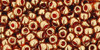 Toho Seed Beads 8/0 Rounds #30 Gold-Lustered African Sunset 20g