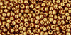 Toho Seed Beads 11/0 Rounds #181 Gold-Lustered Transparent Pink 20 gram