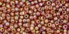 Toho Seed Bead 11/0 Round #184 Transparent Rainbow Topaz 50 gr
