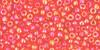 Toho Seed Beads 11/0 Rounds Transparent Rainbow Light Siam Ruby