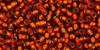 Toho Seed Beads 11/0 Rounds Silver-Lined Burnt Orange