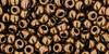 Toho Seed Beads 8/0 Rounds #45 (Metallic) Antique Bronze 50 Grams