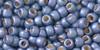 Toho Seed Bead 8/0 Round #116 Permanent Finish Frosted Metallic Polaris 50g