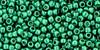 Toho Seed Bead 11/0 Round #360 Permanent Finish Galvanized Teal 50g