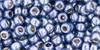 Toho Seed Bead 8/0 Round #128 Permanent Finish Metallic Polaris 50g