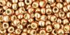 Toho Seed Bead 8/0 #137 Permanent Finish Galvanized Rose Gold 20g