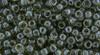 Toho Beads 8/0 Rounds #151 Transparent Lustered Smoke 50 gram