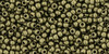 Toho Seed Beads 11/0 Round #385 Hybrid Metallic Suede Gold 20 gram