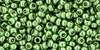 Toho Beads 11/0 Round Permanent Finish Galvanized Sea Foam 8 g.