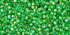 Toho Seed Beads #1 Treasure #167 Transparent Rainbow Peridot 50g