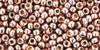 TOHO Beads 8/0 Rounds #21 Permanent Finish Galvanized Sweet Blush 250g