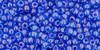 Toho Seed Beads 11/0 Round #408 In-Dark Aqua Violet Lined 20 gram pack
