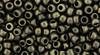 Toho Seed Beads 6/0 Round #77 Hybrid Metallic Suede Gold 20 gram pack