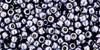 Toho Bead 11/0 Round #414 Permanent Finish Galvanized Gun Metal Gray 250g