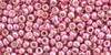 Toho Bulk seed beads 11/0 Round #38 'Permanent Finish Galvanized Pink Lilac' 250 gram pack