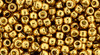Toho Beads 8/0 round #220 'Permanent Finish Galvanized Old Gold' 20 gram