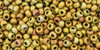 Toho Seed Beads 11/0 #429 Higher Metallic Frosted Carnival 20 grams