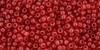 Toho Seed Beads 11/0 #445 Milky Aurora Red 250g