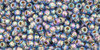 Toho Seed Beads 11/0 Rounds Gold-Lined Rainbow Light Sapphire