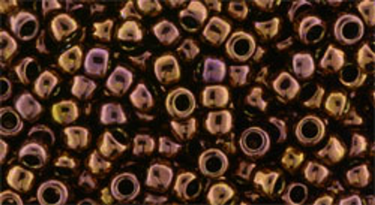 Silver Lined Frosted TOHO Seed Beads 8//0 Dark Amethyst 20gr