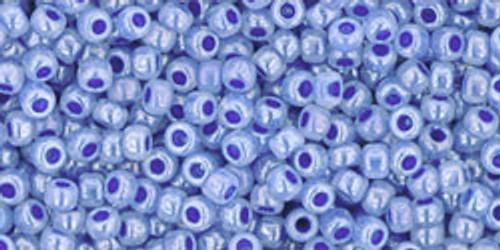 Toho Seed Beads 11/0 Rounds #61 Ceylon Denim Blue 50 Grams