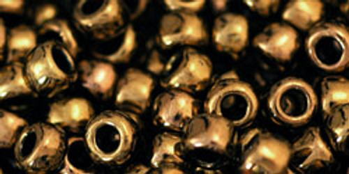TOHO Seed Beads 6/0 Rounds Antique Bronze