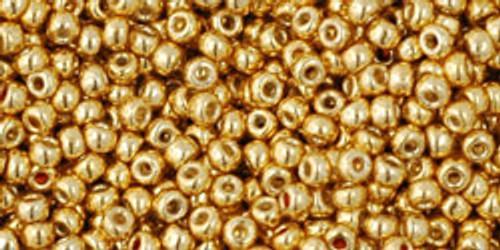Toho Seed Beads 11/0 Rounds #100 Permanent Finish Galvanized Starlight 50g