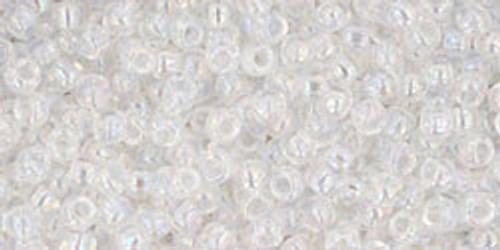 Toho Seed Bead 11/0 Round #108 Transparent Rainbow Crystal 50 gr