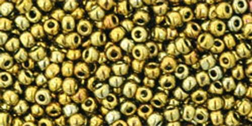 TOHO Seed Beads 11/0 Rounds #143 Galvanized Carnival 20 Grams