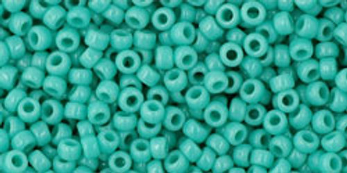 TOHO Seed Beads 11/0 Rounds #225 Opaque Turquoise 50 Grams