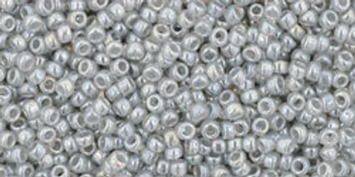 Toho Seed Beads 15/0 Rounds Ceylon Smoke