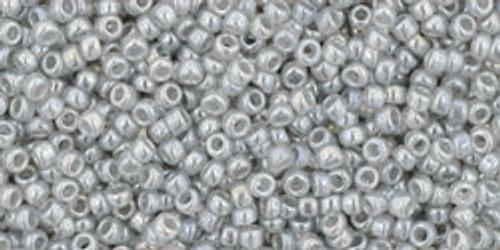 Toho Seed Beads 15/0 Rounds Ceylon Smoke