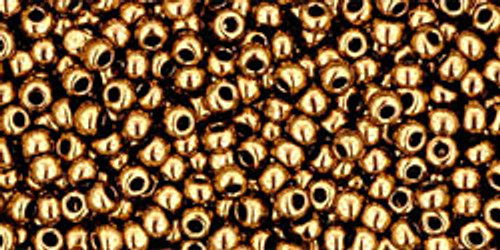 Toho Seed Beads 11/0 Rounds #244 Metallic Bronze 50 Grams
