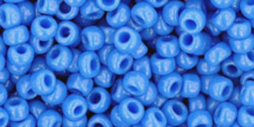 Toho Seed Beads 8/0 Rounds Opaque Cornflower