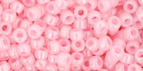Toho Seed Beads 8/0 Rounds #49 Ceylon Innocent Pink 50 gram pack