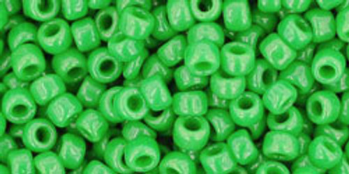 TOHO Seed Beads 8/0 Rounds Opaque Mint Green