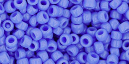 TOHO Seed Beads 8/0 Rounds Opaque Periwinkle