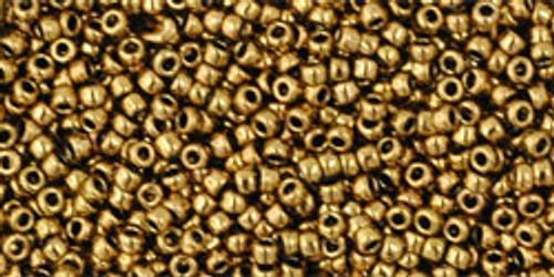 Toho Seed Beads 15/0 Rounds Antique Bronze