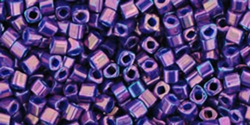 Toho Seed Beads Cubes 1.5mm Higher Metallic Grape
