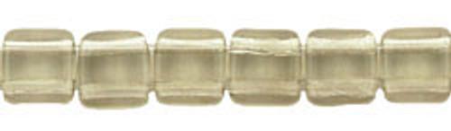 CzechMates 2-Hole 6mm Beads Black Diamond 50pcs