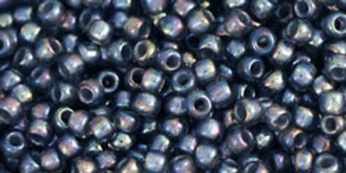 Toho Seed Bead 11/0 Round #278 In-Rainbow Gray/Opaque Grey Lined 50gm
