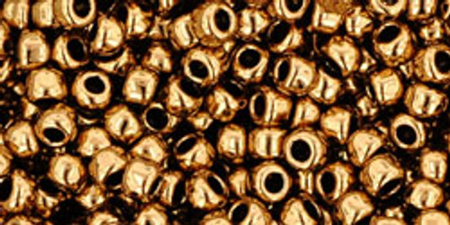 TOHO Seed Beads 8/0 Rounds #81 Bronze 20 Gram Pack
