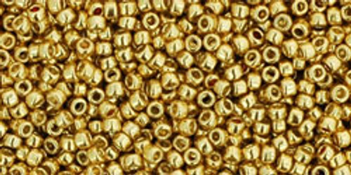 Toho Seed Beads 15/0 Rounds Permanent Finish Galvanized Starlight