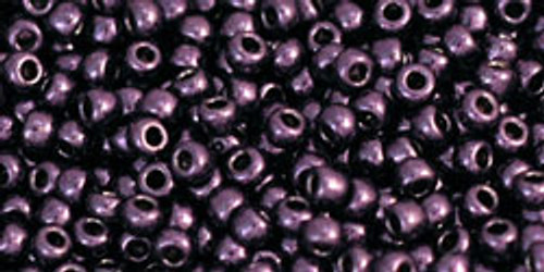 Toho Seed Beads 11/0 Rounds #282 Higher-Metallic Violet 50 Grams