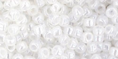 Toho Seed Beads 8/0 Rounds 'Ceylon Snowflake'