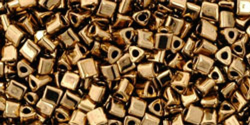 TOHO Seed Beads Triangles 11/0 Bronze