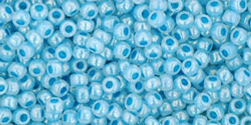Toho Seed Beads 11/0 Rounds #295 Ceylon English Blue Bell 50 Grams
