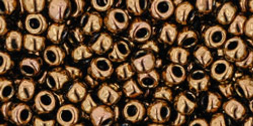 TOHO Seed Beads 8/0 Rounds Antique Bronze